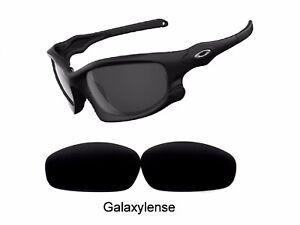 Galaxy Replacement Lenses For Oakley Split Jacket Sunglasses Black Polarized