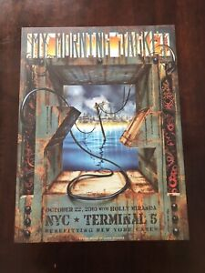 My Morning Jacket Poster Print NYC Terminal 5 2010 New York Z