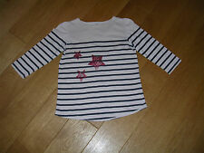 """MAILLOT MANCHES 3/4 FILLE """"SERGENT MAJOR"""" 10 ANS"""