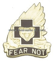ARMY 21ST COMBAT SUPPORT HOSPITAL UNIT CREST