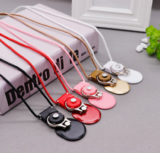 2IN1 Universal Mobile Phones Holder+Lanyard Sets Neck Hanging Rope Phone Strap
