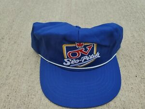 "Vintage OV ""Slo Pitch"" Canadian Beer Adjustable Trucker Hat"