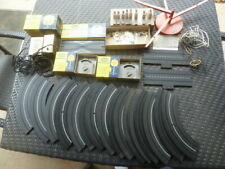 Original 1960's Large Lot Of Aurora Track Parts and Other Items