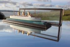 CANADIAN PACIFIC LINE EMPRESS BRITAIN BASSETT LOWKE CASED WATERLINE MODEL SHIP