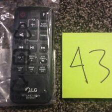Home Audio Remote Controls for LG | eBay