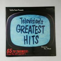 TELEVISION'S GREATEST HITS TVT1100 Dbl LP Vinyl VG++ Cover VG++ GF