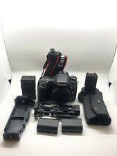Canon EOS 70D 20.2MP DSLR Camera - Body & Battery Grip BUNDLE - FREE SHIPPING!