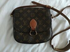 Authentic LOUIS VUITTON LV Monogram Saint Cloud PM Shoulder Bag M51244