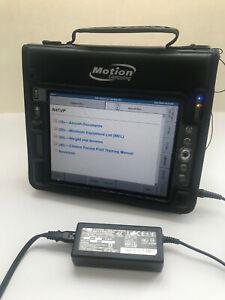 MOTION COMPUTING LS800 Model TS-01 TABLET PC Windows XP