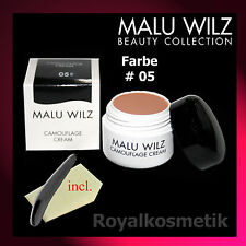 MALU WILZ Camouflage Cream Nr. 05 (5)  6g  ( GP: 246,67 �'� / 100g )