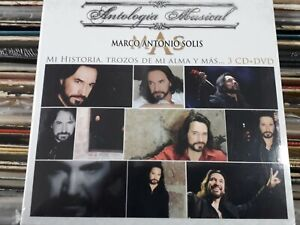 Antologia Musical Marco Antonio Solis 3CDs + DVD Brand New