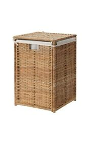Brand New, IKEA BRANAS Laundry Basket with Lining 202.147.31