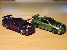 Hot Wheels RLC Nissan Skyline GT-R  BNR34 Lot