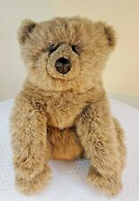 Vintage GUND Collector's Classic 1985 Brown TEDDY BEAR Plush STUFFED ANIMAL Toy
