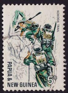 PNG 1967 Kokoda Trail 5c Sc#246 USED @E3287