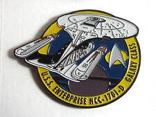 "Star Trek:NG Enterprise 1701-D MicroFleet DELUXE 2+"" Cloisonne Pin (STSH007)"