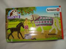 Schleich 72130 Horste Club NEU Pferde Lipizzaner Pflege Set Fohlen Farm Live