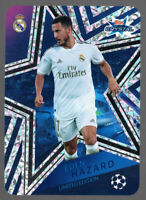 EDEN HAZARD LIMITED EDITION - TOPPS UEFA CHAMPIONS LEAGUE CRYSTAL 2019/20
