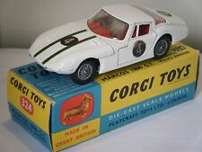 "Corgi No: 324 ""Marcos 1800GT"" - White (Boxed/Original 1960's)"