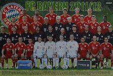 FC Bayern München-POSTER a3 (ca 42 x 28 cm) - CALCIO skinning fan raccolta