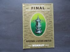 1972 Arsenal v Leeds United - FA Cup Final Programme, Centenary Year (1872-1972)