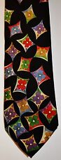 Necktie by Hugo Boss Black 100% Silk Floral (Multi-Colour) See 8 Pictures
