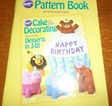 Wilton PATTERN BOOK Cake Decorating 2009 Wilton Yearbook Desserts in 3D 47 page
