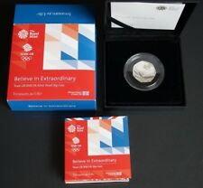 Official Olympic Team GB 2016 United Kingdom 50p Silver Proof Coin - 4000 ONLY