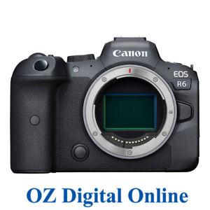 NEW Canon EOS R6 Body Mirrorless Digital Camera 1 Yr Au Wty