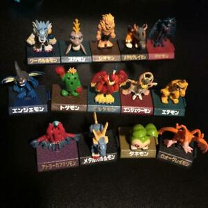 Digimon Adventure mini figure lot set Vintage 1990s Bonus 14 piece Toys sweets/8