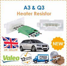 For Audi A3 Q3 8P1 8P7 8V7 8 PA 8U Valeo Heater Resistor New 1K0959263A