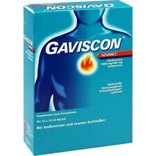 GAVISCON Advance Menta piperita sosp. 12x10 ml PZN2240760