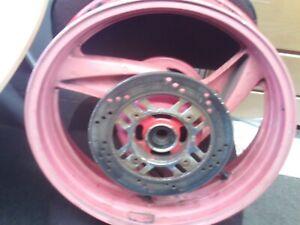 Kawasaki zzr 600 zzr600 rear wheel rim disc