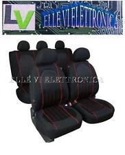 54930 Set Coprisedili Fodere Colore Carbon ALYSSA AIRBAG Lancia Y