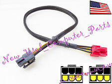 "➨➨➨ 12"" Antec Modular PSU 6-Pin to Two 6-Pin PCI-E Power Supply Solution ➨➨"
