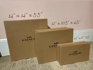 coach gift boxes
