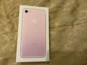 Genuine Apple iPhone 7 Empty Box