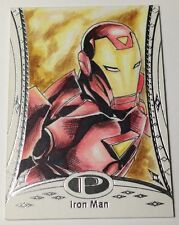 2014 Upper Deck Marvel Premier Iron Man 1/1 Sketch Card by JC Fabul