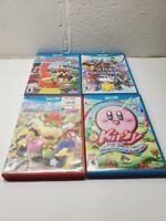 Nintendo Wii U Games Choose Smash Bros Paper Mario Color Splash Mario Party 10