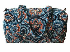 Vera Bradley Small Duffel Luggage Bag Carryon Handbag Purse Marrakesh New NWT