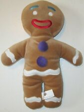 "SHREK Movie Plush GINGY gingerbread man doll 12"", 2003 Universal Studios"