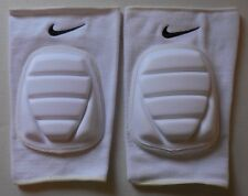 Nike Adult Unisex Volleyball Bubble Knee Pads 1 Pair M/L White/Black New