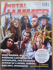 METAL HAMMER 1/2003 Iron Maiden,Danzig,Paradise Lost,Nirvana,Foo Fighters,Feeder