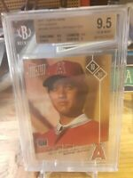 2017 Topps Now Shohei Ohtani Angels RC Rookie Card BGS 9.5 GEM MINT OS-80 OS80