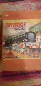 Vintage Wellstoys Brimtoy clockwork Train Set 828 'the prince' 6220 0 gauge