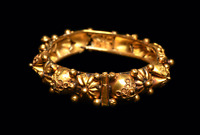Ancient Byzantine Gold Bracelet Ca. 7th-12th century A.D. Medieval Jewelry