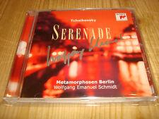 WOLFGANG EMANUEL SCHMIDT Cello Tchaikovsky Serenade SONY CD NEW Signed Signiert