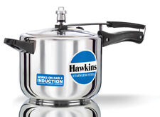 Hawkins Stainless Steel 5 Ltr Pressure Cooker Induction Friendly HSS50