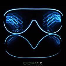 Diffraction Glasses -Rave Glasses - EL Wire Glasses - LED Glasses - Glow Glasses
