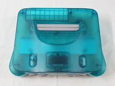 A3 Nintendo 64 console Clear Blue Japan N64